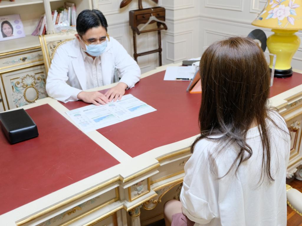 薇薇三合一肝肺防護醫師諮詢